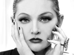 Rob's daughter Genevieve Joy as Greta Garbo