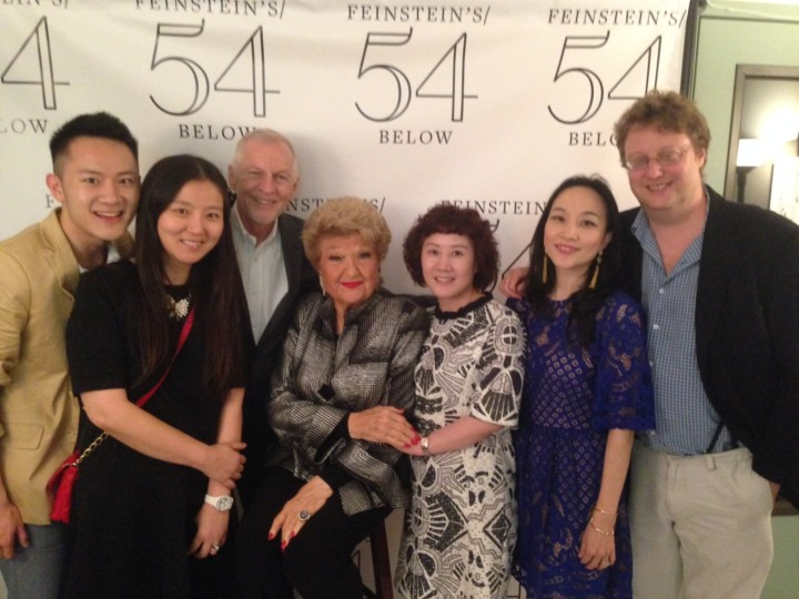 Rob's Friends and Family join Rob Davis to see Marilyn's show at Feinstein's 54 Below.