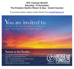 HFC Cayman 12th Annual Benefit