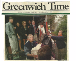Rob Davis in Greenwich Times