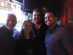 With Genevieve and the gang for some terrific Stand-Up comedy