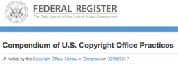 Compendium of U.S. Copyright Office Practices