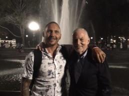 Rob Davis with Christian Griffith