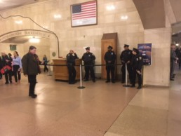 What Happens When I Engage with Protectors of Grand Central Station?