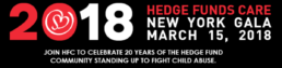 Hedge Funds Care/Help For Children New York Gala March 15, 2018