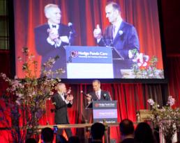 Joe Torre and Rob Davis Hedge Funds Care