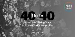 NYN Media - 40 Under 40 Invitation