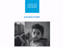 Gregorys Story of Help From The New York Center For Children