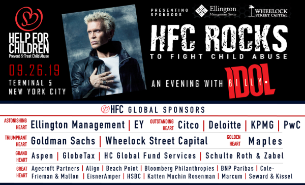Last Night Billy Idol rocked a concert for Help For Children